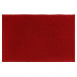 Tapis uni rouge 40x60 cm