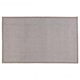 Tapis uni gris 50x80 cm