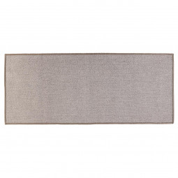 Tapis uni gris 50x120 cm
