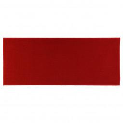 Tapis uni rouge 50X120