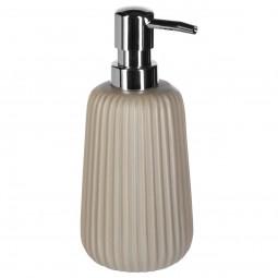 Distributeur à savon finition mat taupe