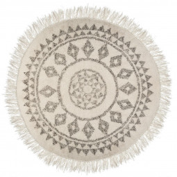 Tapis rond etnik D120 cm