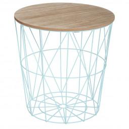 Table à café aqua Kumi H.41 cm