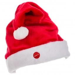 Bonnet de Noël Fun qui chante et bouge pour Adulte taille unique Les incontournables