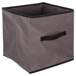 Boîte de rangement taupe 31X31