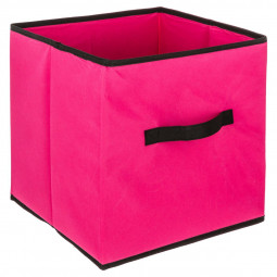 Boîte de rangement framboise 31X31