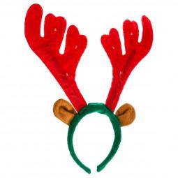 Serre-tête de Noël Bois de Renne lumineux pour Adulte taille unique Les incontournables