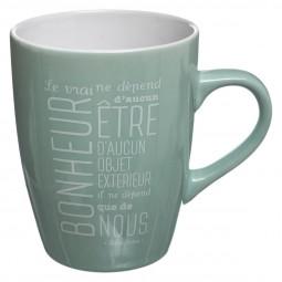Mug rond citation 30cl