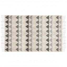 Tapis coton relief 90x150