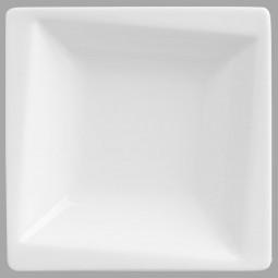 Coupelle basse carrée géométrique l11.5