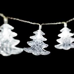 Guirlande lumineuse d'intérieur 10 Déco LED Blanc froid sur 1.35 mètres