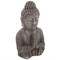 Bouddha effet bois h49