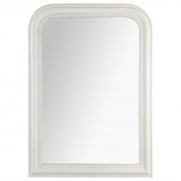 Miroir arrondi blanc Adele 74X104