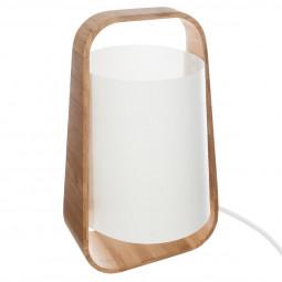Lampe bambou + abj plast h35