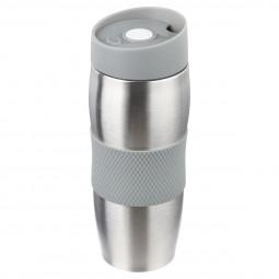 Mug isolant double paroi gris 38cl