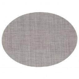Set de table texaline ovale gris