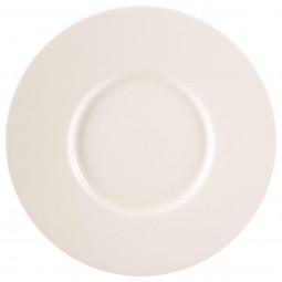 Assiette à dessert torsade ivoire D 25 cm