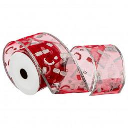 Rouleau Ruban Textile Organza imprimé 2,70 Mètres Les incontournables