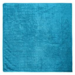 Chiffon microfibre 50x50 bleu