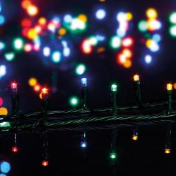 Guirlande lumineuse intérieur 50 LED Multicolore sur 2.5 mètres