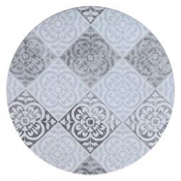Assiette plate Isalyne  D26 cm