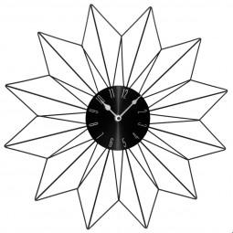 Pendule métal étoile noire D50