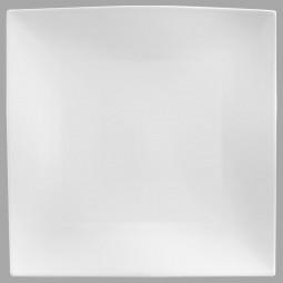 Assiette plate carré onde 26cm