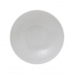 Assiette creuse opéra blanche 20cm