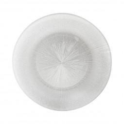 Assiette plate étoile D 28 cm