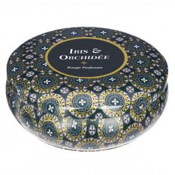 Bougie parfumée iris orchidée 300g