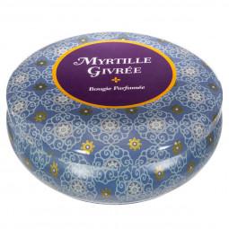 Bougie parfumée myrtille givrée 300g