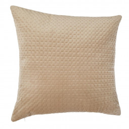 Coussin velours fall lin 60 x 60 cm