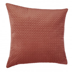 Coussin velours fall rose 60x60