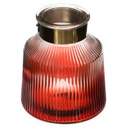 Vase couleur métal fall D14xH16