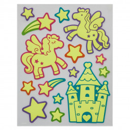 Sticker kids phosphorescent 35X27,5