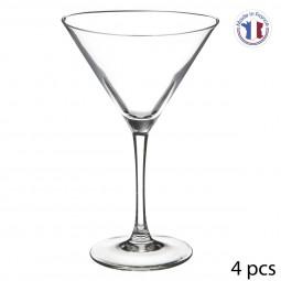 Lot de 4 verres à cocktail 30 cl