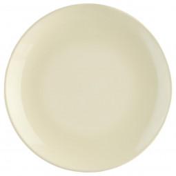 Assiette à dessert D 21 cm Colorama ivoire