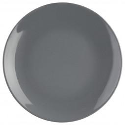 Assiette à dessert gris 21 cm