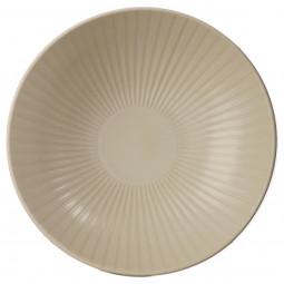 Assiette creuse sun blanc D 19 cm