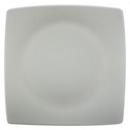 Assiette plate tokyo carrée beige