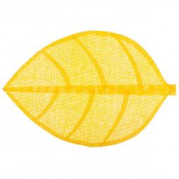 Set de table feuille jaune 50X33