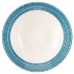 Coupelle bleue D 19 cm