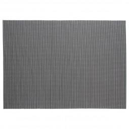Tapis salle de bain mousse gris 65X90