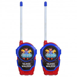 Lot de 2 Talkies walkies Robot