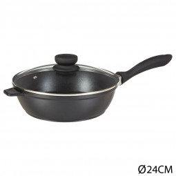 Sauteuse D24 fonte alu authentic