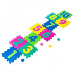Puzzle Tapis mousse marelle 10 dalles