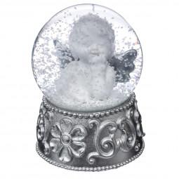 Décoration de Noël  Boule de neige Ange 6.5 cm Sarah B.