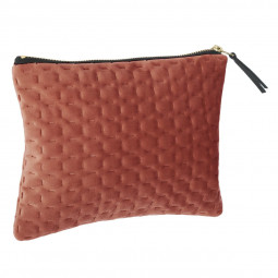 Pochette en velours fall 21X16