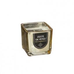 Bougie parfumée en pot or H5