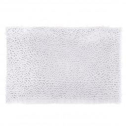 Tapis de bain maxi chenille blanc 50x80